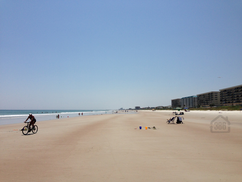 ride your bike on daytona beach