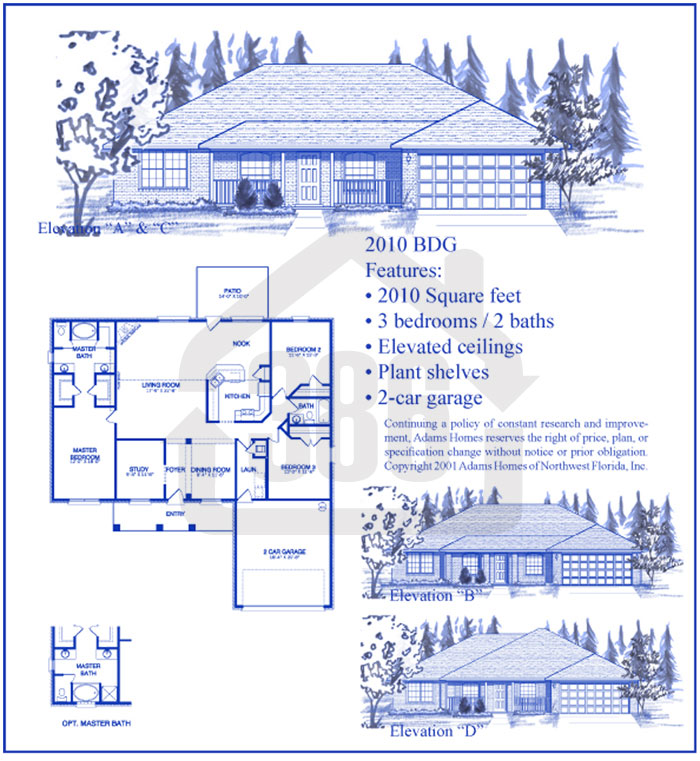 bayberry lakes floor plan 2010