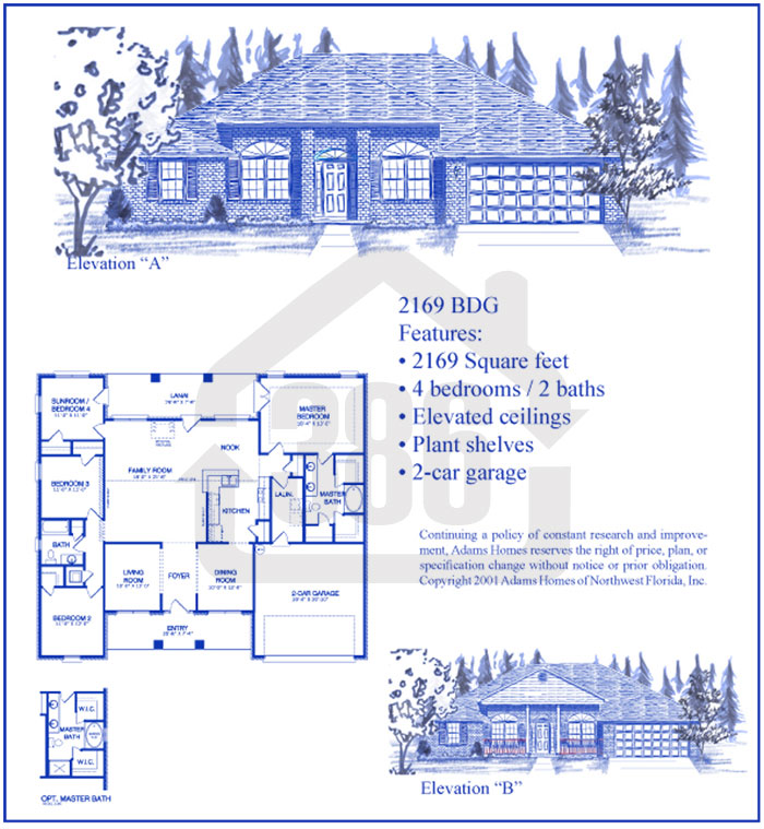 bayberry lakes floor plan 2169