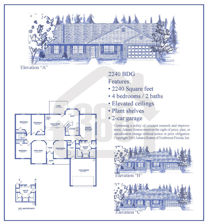 bayberry lakes floor plan 2240