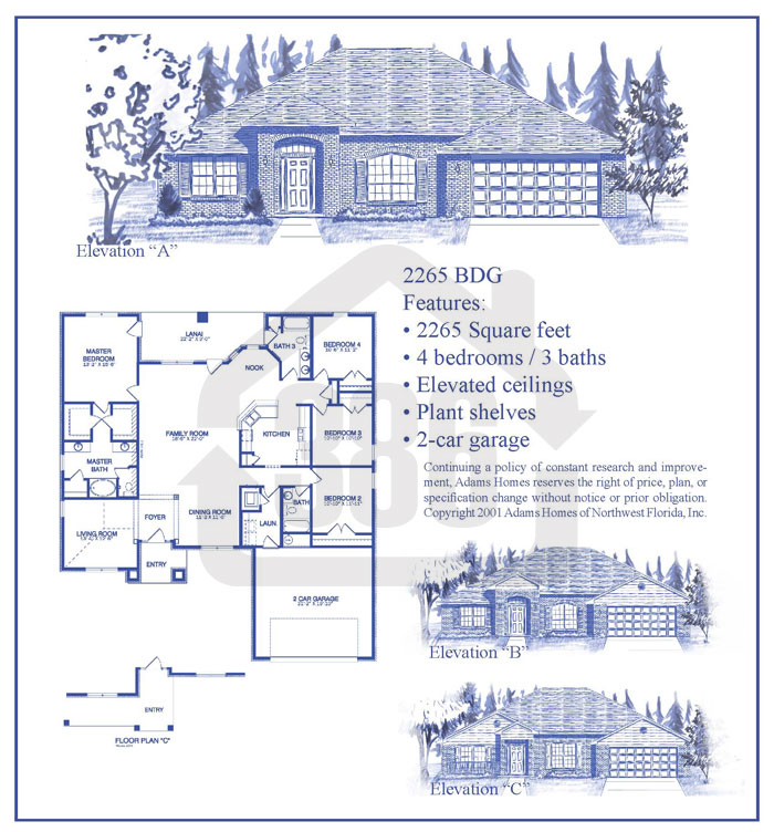 bayberry lakes floor plan 22652c