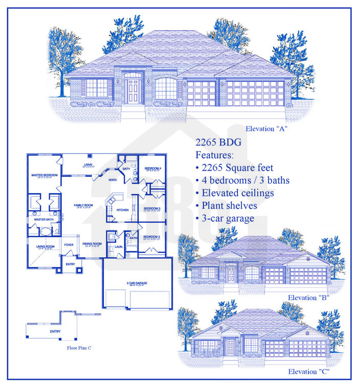 bayberry lakes floor plan 22653c