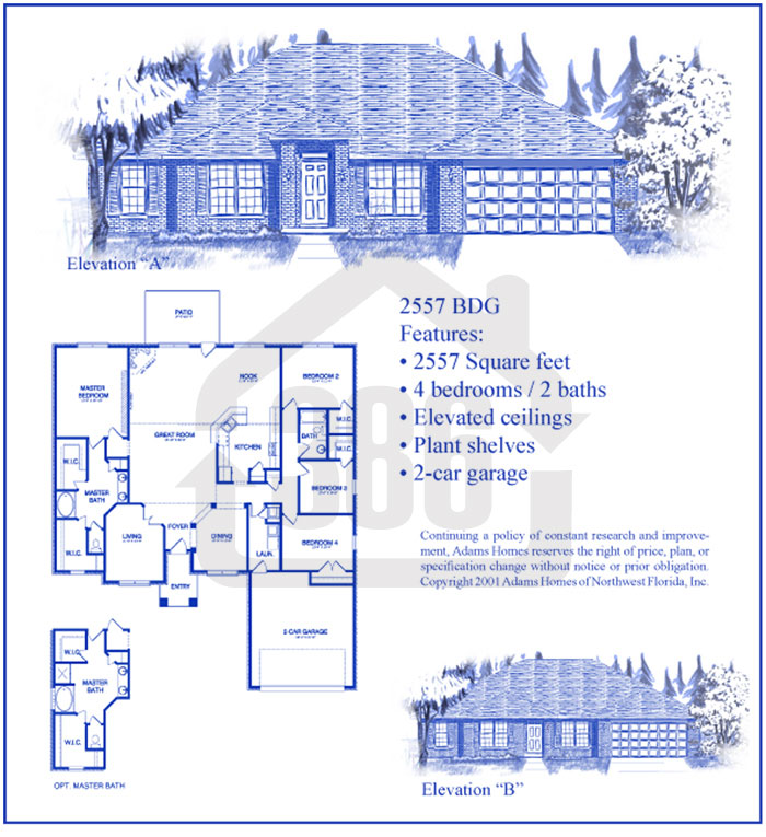 bayberry lakes floor plan 2557