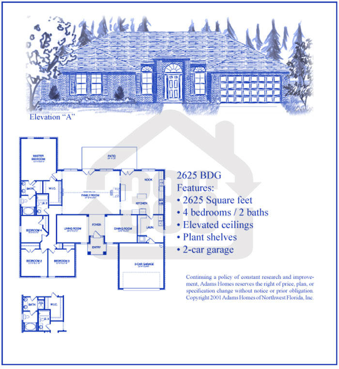 bayberry lakes floor plan 2625