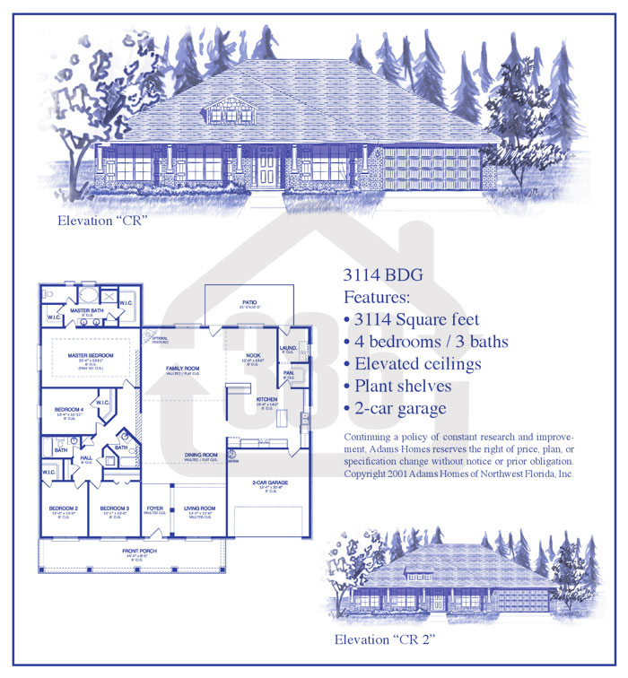 bayberry lakes floor plan 3114
