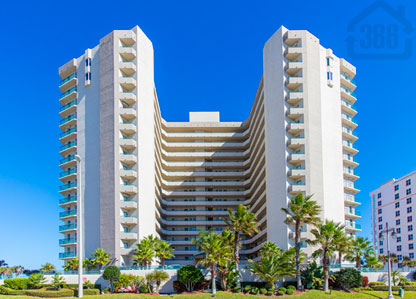towers grande condos daytona beach shores