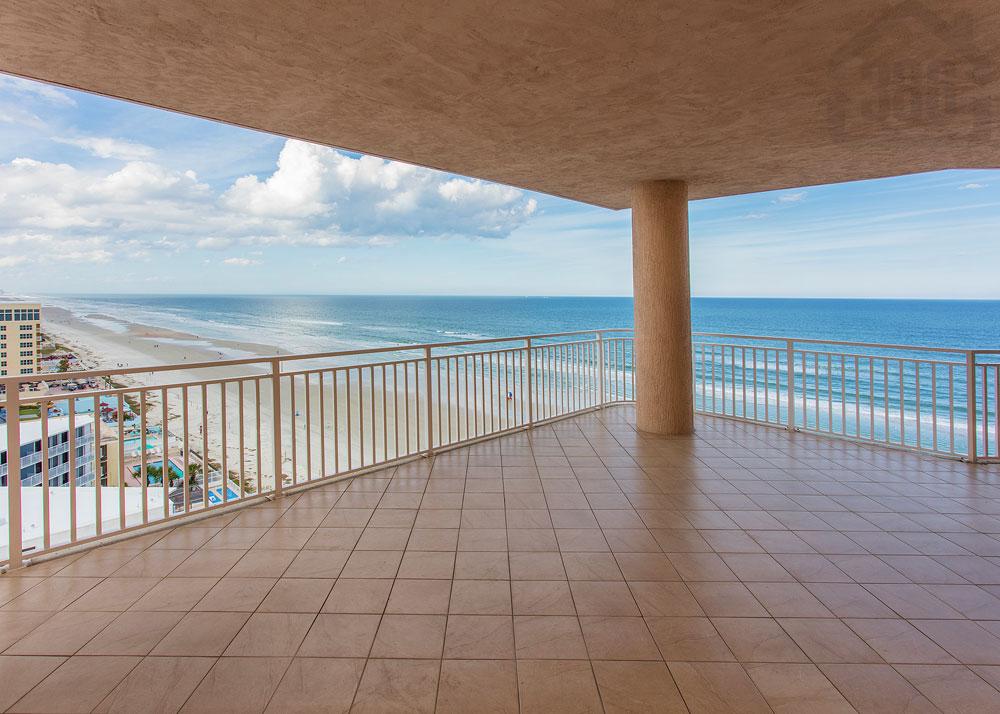 palma bella 1103 balcony view