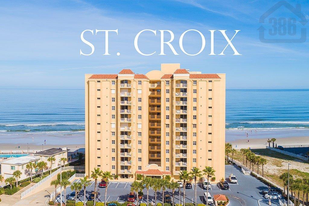 st croix oceanfront condo building exterior