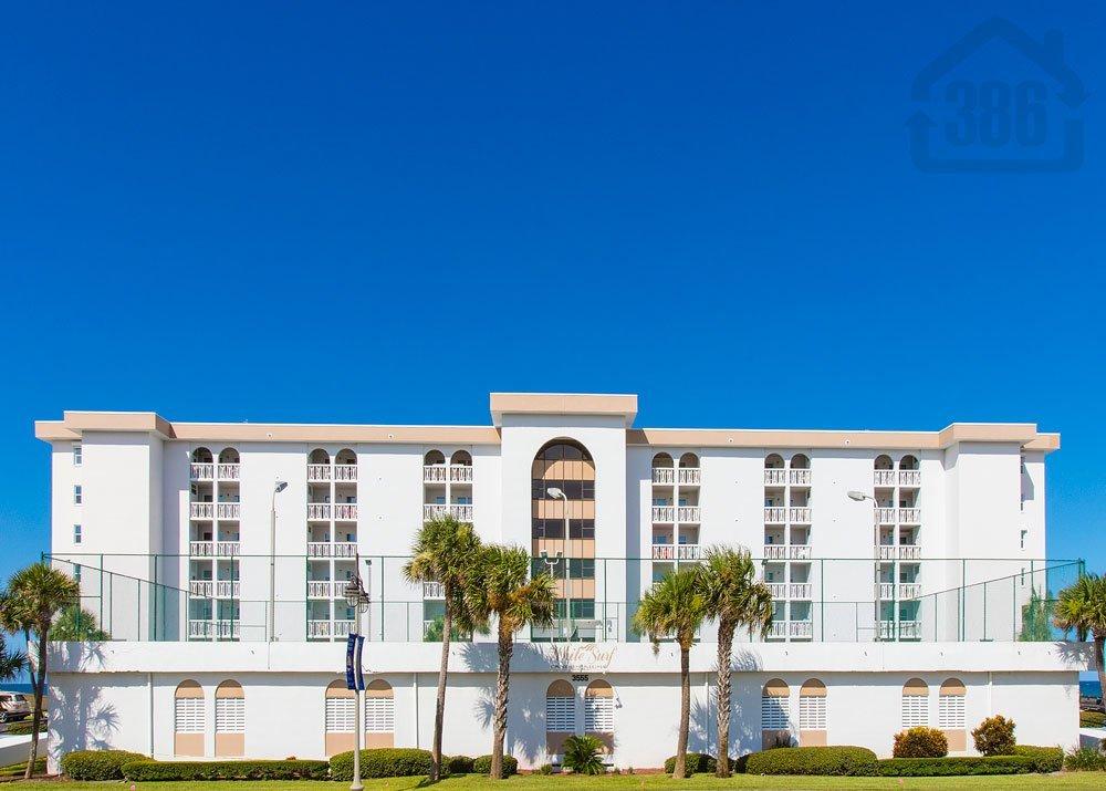 White Surf Condo Daytona Beach