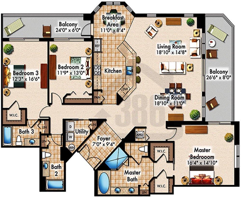 Halifax Landing Condominium Floor Plans