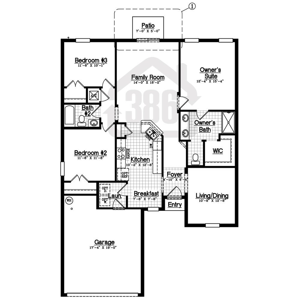 floor plan harwich