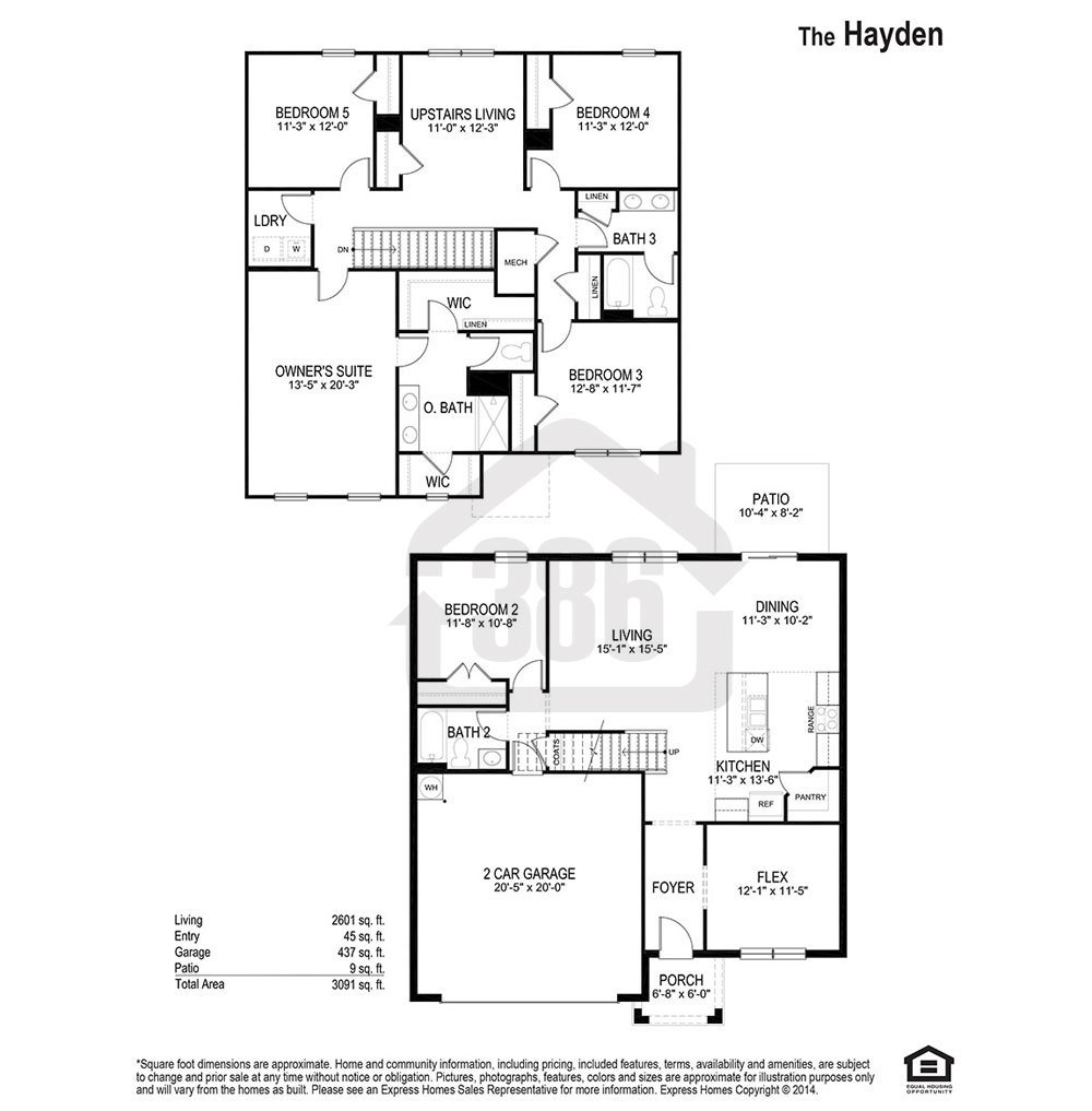 hayden floor plan