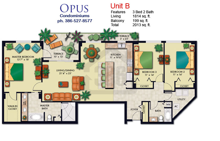 opus floor plan b