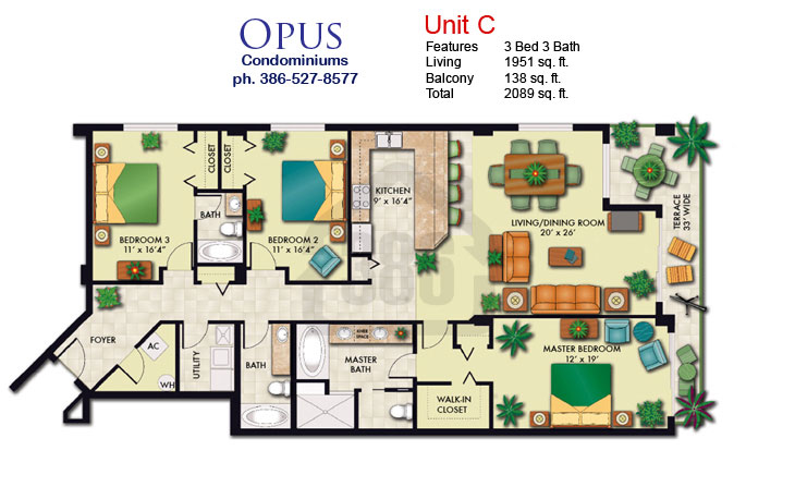 opus floor plan c