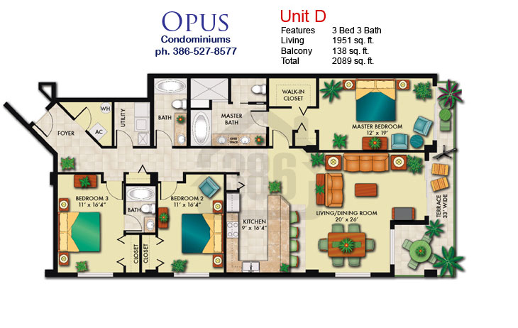 opus floor plan d
