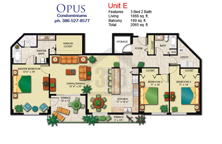 opus floor plan e
