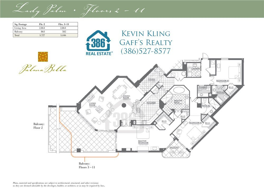 palma bella lady palm floor plan