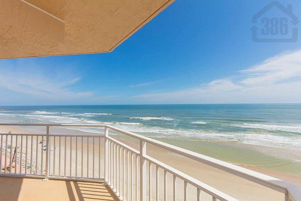 blue surf 704 oceanfront balcony